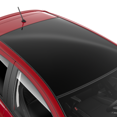 Skyview panoramic roof