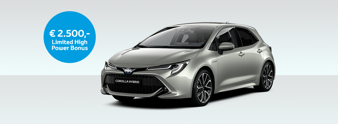 Corolla Hatchback 2.0 Hybrid Executive JBL