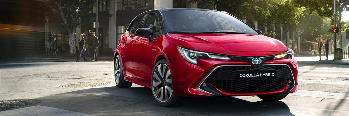 Nouvelle Corolla 5 portes: pack Business ou pack Luxury offert*